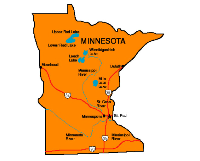 Minnesota Facts Symbols Famous People Tourist Attractions – Minnesota Tourist Attractions Map
