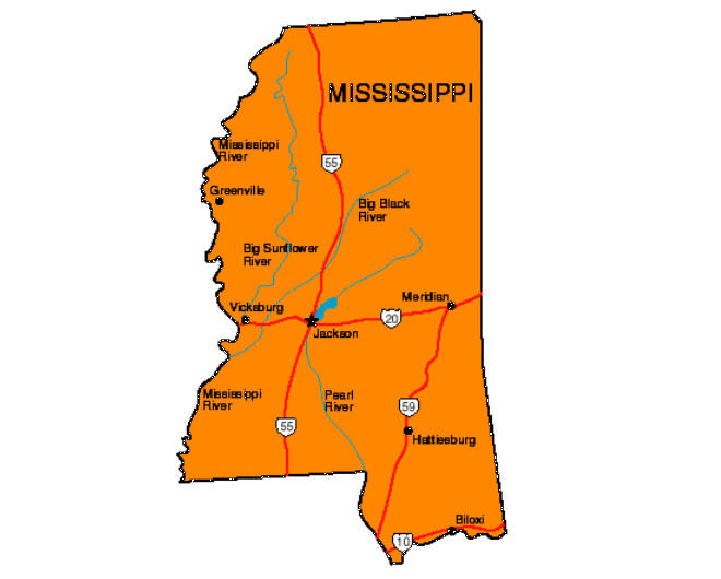 Mississippi Facts Symbols Famous People Tourist Attractions – Tourist Attractions Map In Mississippi