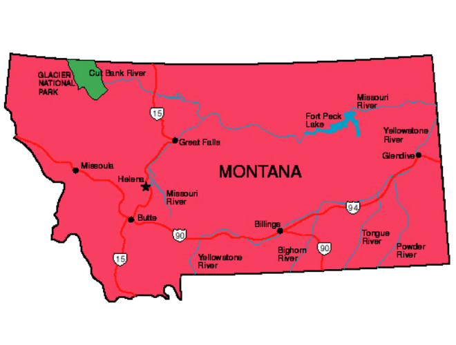 Montana Facts - Symbols, Famous People, Tourist Attractions