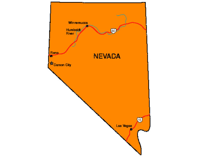 Nevada Facts Symbols Famous People Tourist Attractions – Nevada Tourist Attractions Map