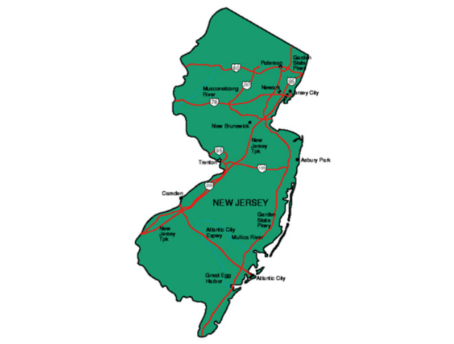 New Jersey Facts Symbols Famous People Tourist Attractions – New Jersey Tourist Attractions Map