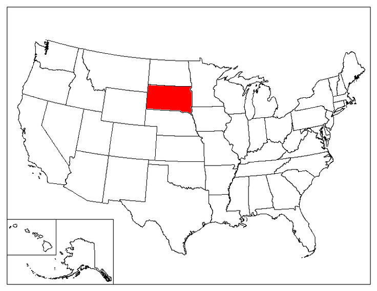 South Dakota Facts Symbols Famous People Tourist Attractions – Tourist Attractions Map In South Dakota