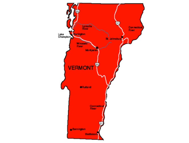 Vermont Facts Symbols Famous People Tourist Attractions – Vermont Tourist Attractions Map