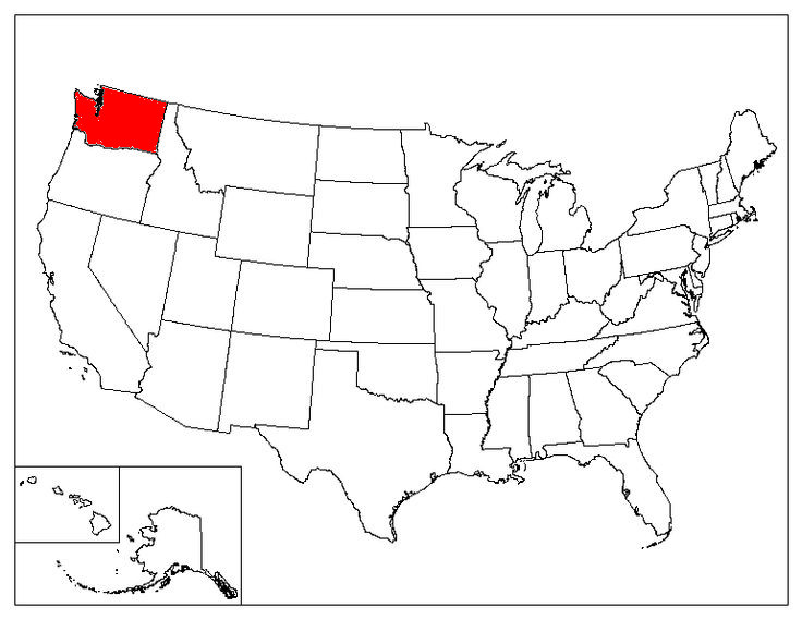 Washington Location In The US