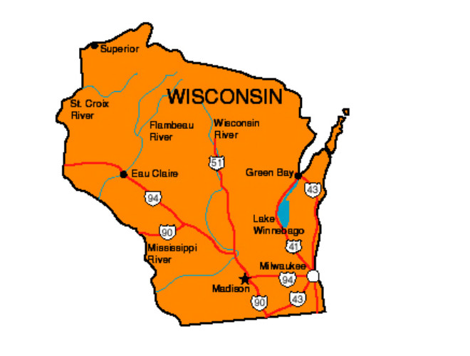 Wisconsin Facts Symbols Famous People Tourist Attractions – Wisconsin Tourist Attractions Map